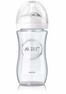 Biberon din sticlă   Philips Avent Natural 120 ml